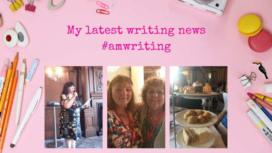 A writer's Life ... Find out my latest writing news#amwriting