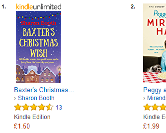 baxter bestseller for book blog