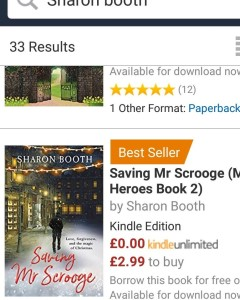 bestseller scrooge for blog book post